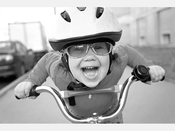 child-on-bike