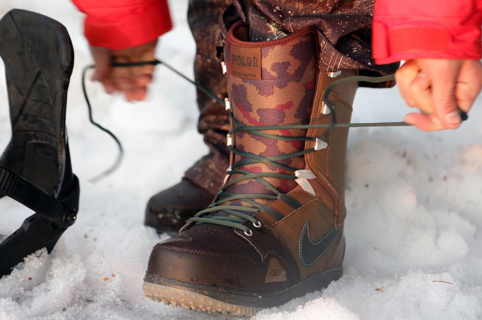 Шнуровка ботинок для сноуборда