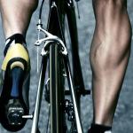 Ноги велосипедиста