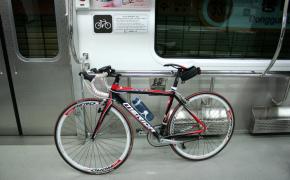 Велосипед в метро